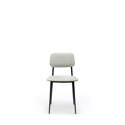Ethnicraft DC dinning chair light grey