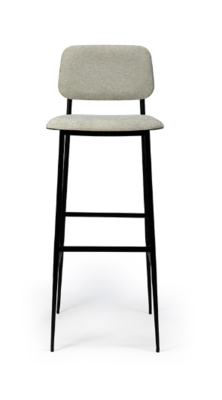 Ethnicraft DC bar stool high light grey