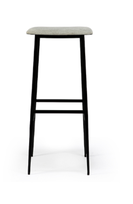 Ethnicraft DC bar stool high without backrest light grey