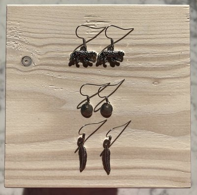 Joyjewelleryy oorbellen 3 paar