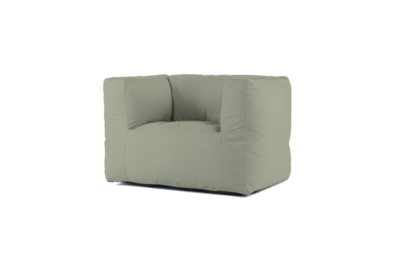 Bryck Chair 1 zits color Mossmerize Eco