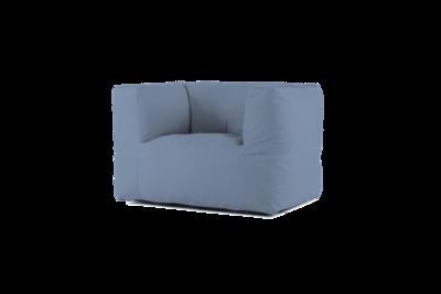 Bryck Chair 1 zits color BLUEloft Eco
