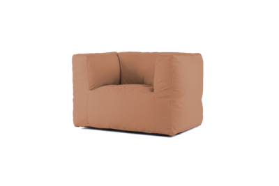 Bryck Chair 1 zits in color COPPERisch Eco