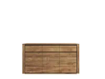 Ethnicraft Elemental cupboard 3 doors 3 drawers