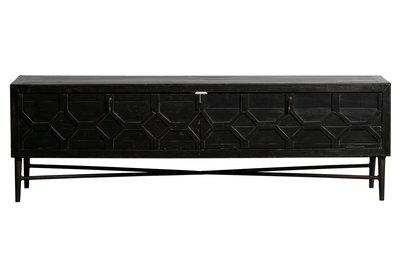BePureHome Bequest tv-meubel hout zwart