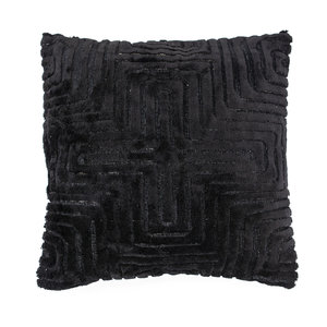 By Boo Pillow Madam 45x45 cm - black