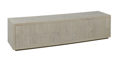puur tv opzet tv meubel eiken vermeer maatwerk meubelen