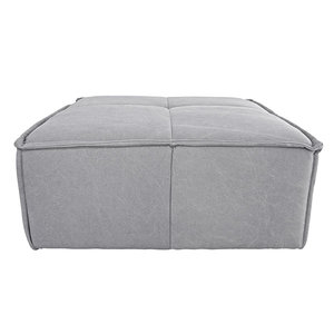 HKliving cube couch hocker canvas light grey