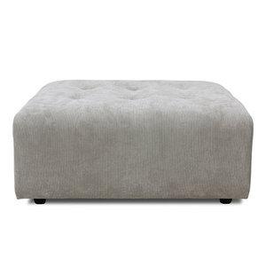 HKliving vint couch element hocker corduroy rib cream