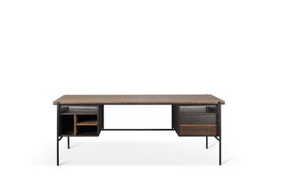 Ethnicraft Teak Oscar desk 2 drawers