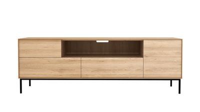 Ethnicraft whitebird TV-meubel 1 deur 1 klep 2 lades