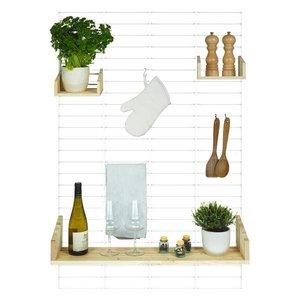 Tolhuijs Design: Fency wanrek - keuken pressed pallet