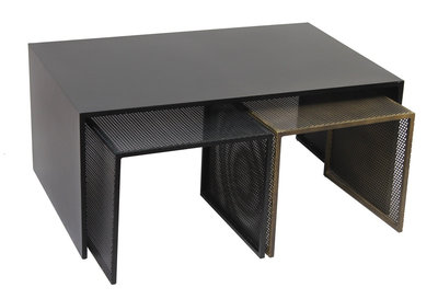 Bodilson coffeetable Tres metal