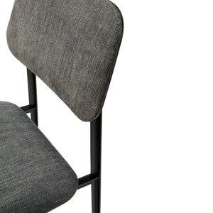 ethnicraft anders dinning chair dark grey