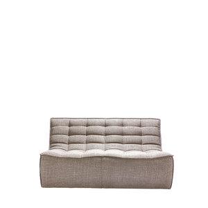 Ethnicraft N701 sofa - 2 seater - Beige