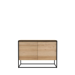 Ethnicraft Monolit sideboard metal black