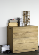 Ethnicraft Burger chest of drawers oak